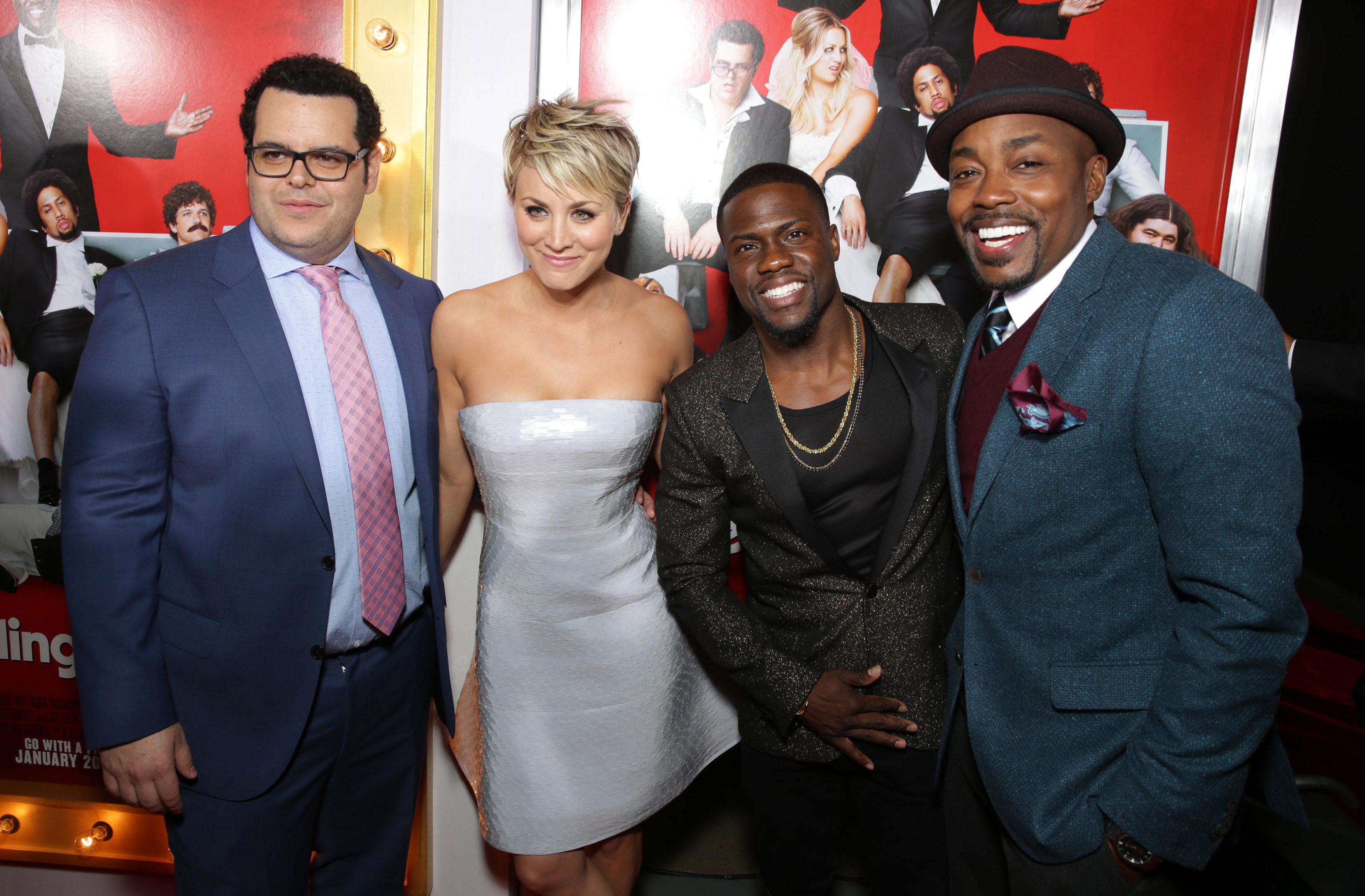 The Wedding Ringer Red Carpet Premiere In Los Angeles