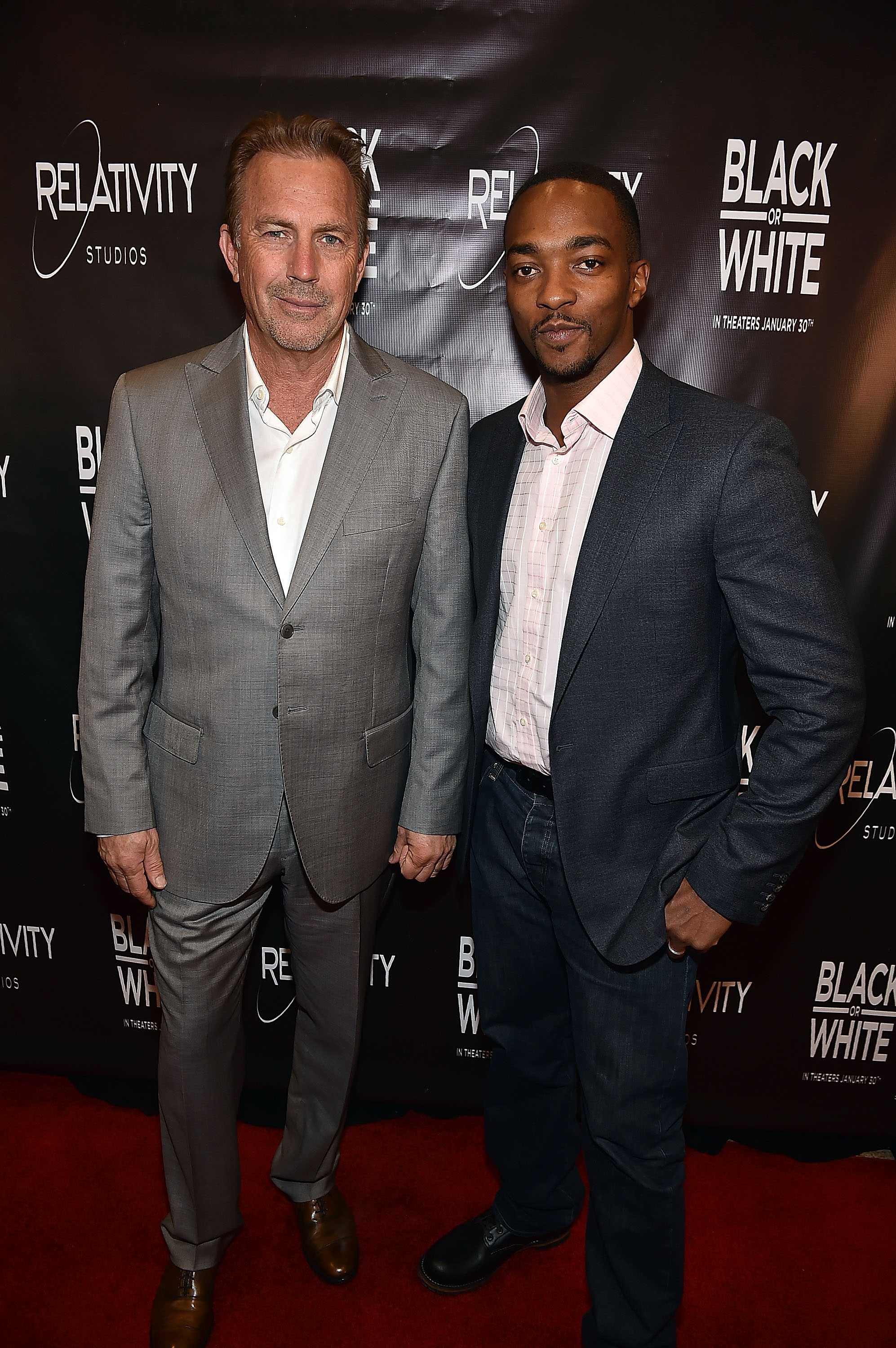 Black Or White Screening In Atlanta With Kevin Costner & Anthony Mackie