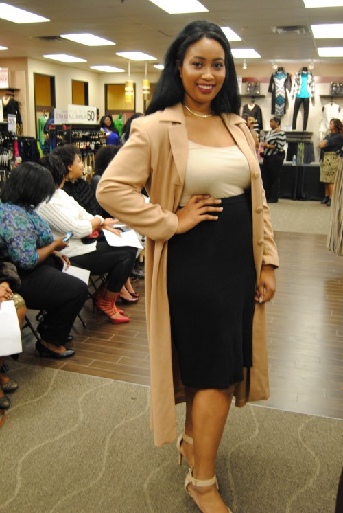 ashley stewart model call
