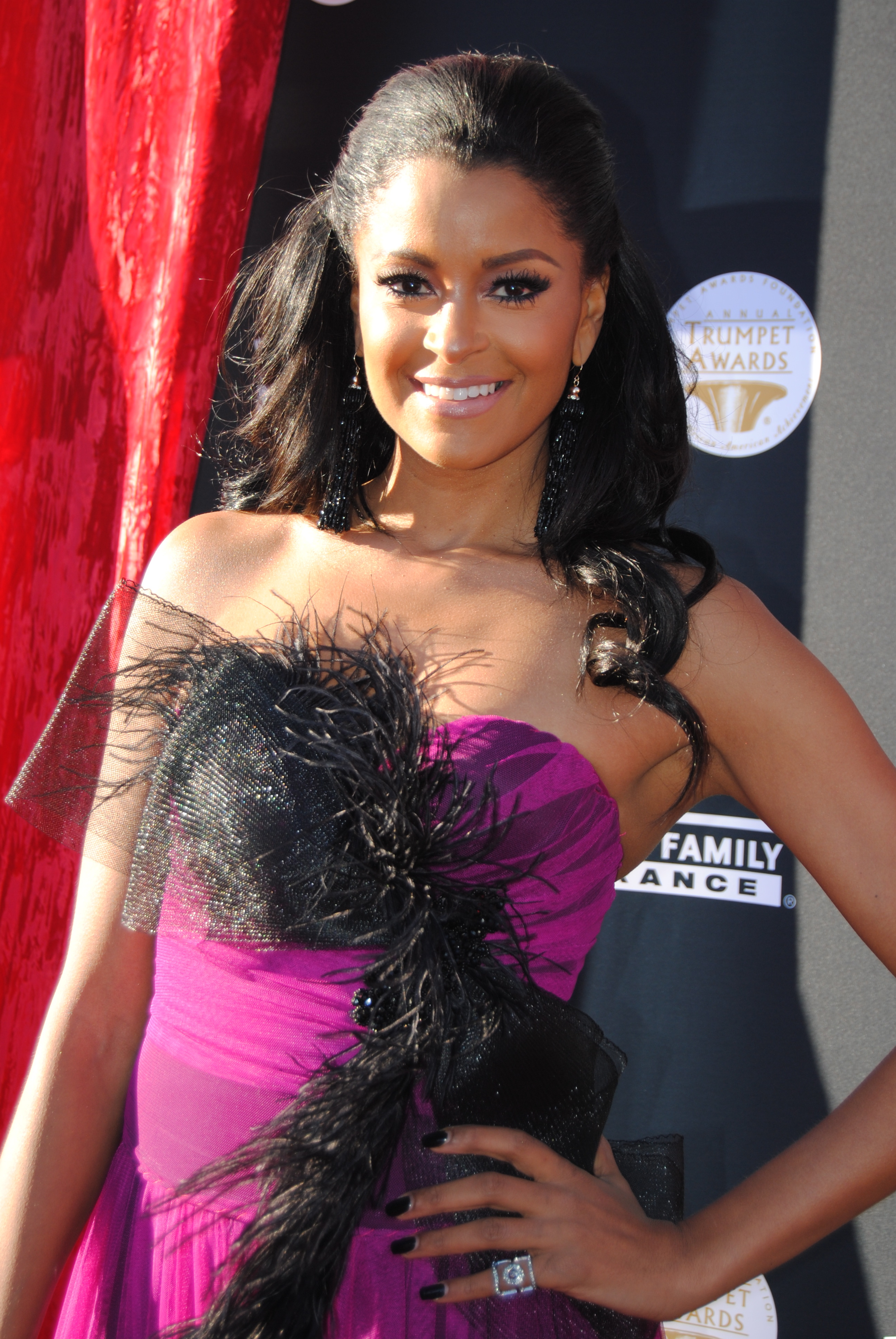 Styling Sunday: Claudia Jordan 2015 Trumpet Awards