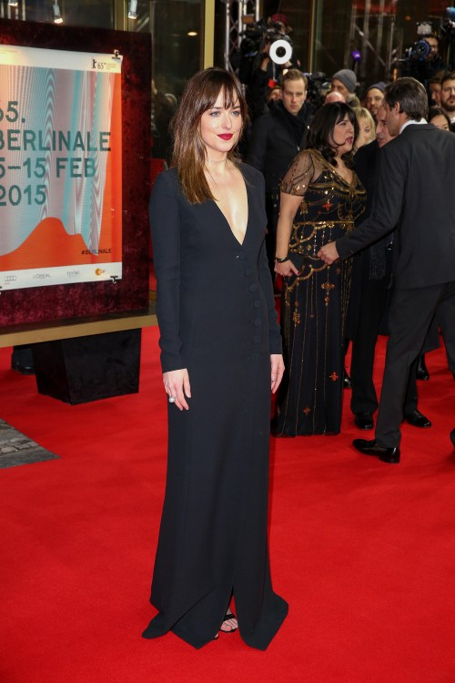 """65th Annual Berlinale International Film Festival - """"Fifty Shades of Grey"""" Premiere - Arrivals"""