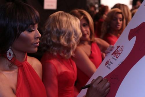 Cynthia Bailey go red for women