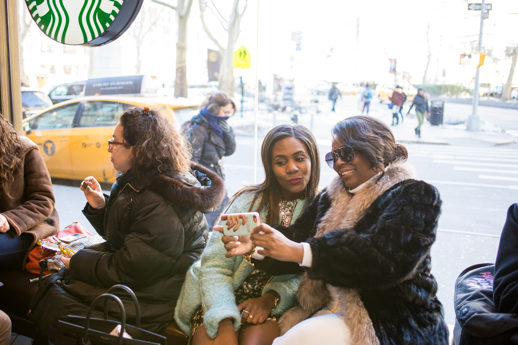 Starbucks Coffee Break During #NYFW