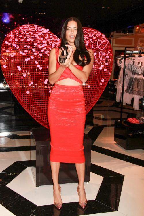 Victoria's Secret Angel Adriana Lima Shares 2015 Valentine's Day Picks