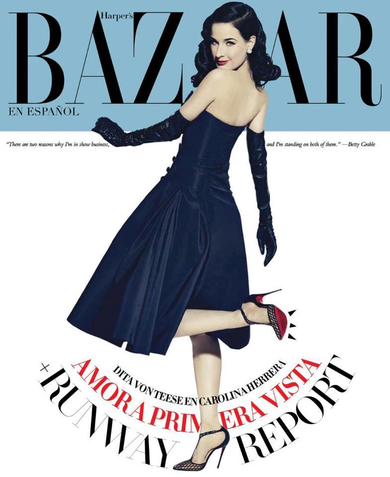 Dita Von Teese For Harper's Bazaar En Español
