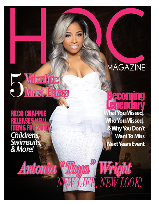 Toya Wright For HOC(House of Chapple)
