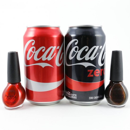 Manicure Monday: Nicole By OPI Coca-Cola Collection