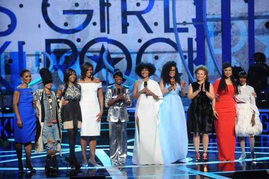 First Lady Michelle Obama Makes Stunning Appearance At 'Black Girls Rock'