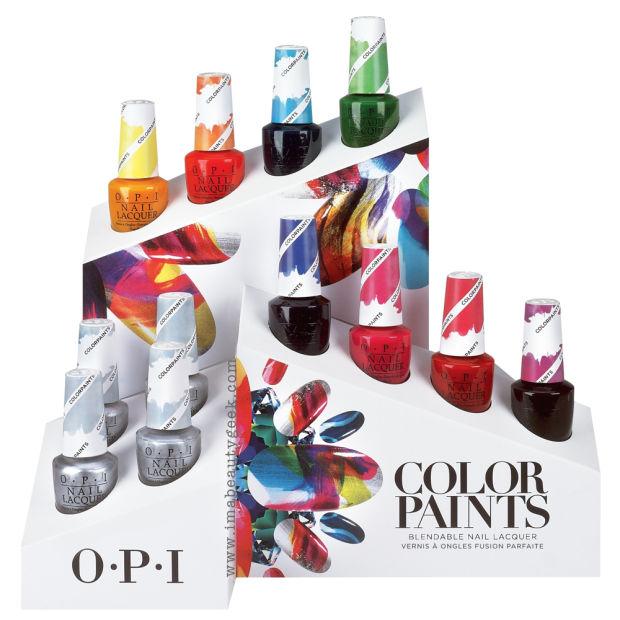 OPI Presents…Color Paints Blendable Nail Lacquer