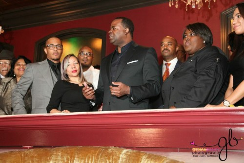 "Clifford ""T.I."" Harris Ribbon Cutting Of New Scales 925 Restaurant In Atlanta"