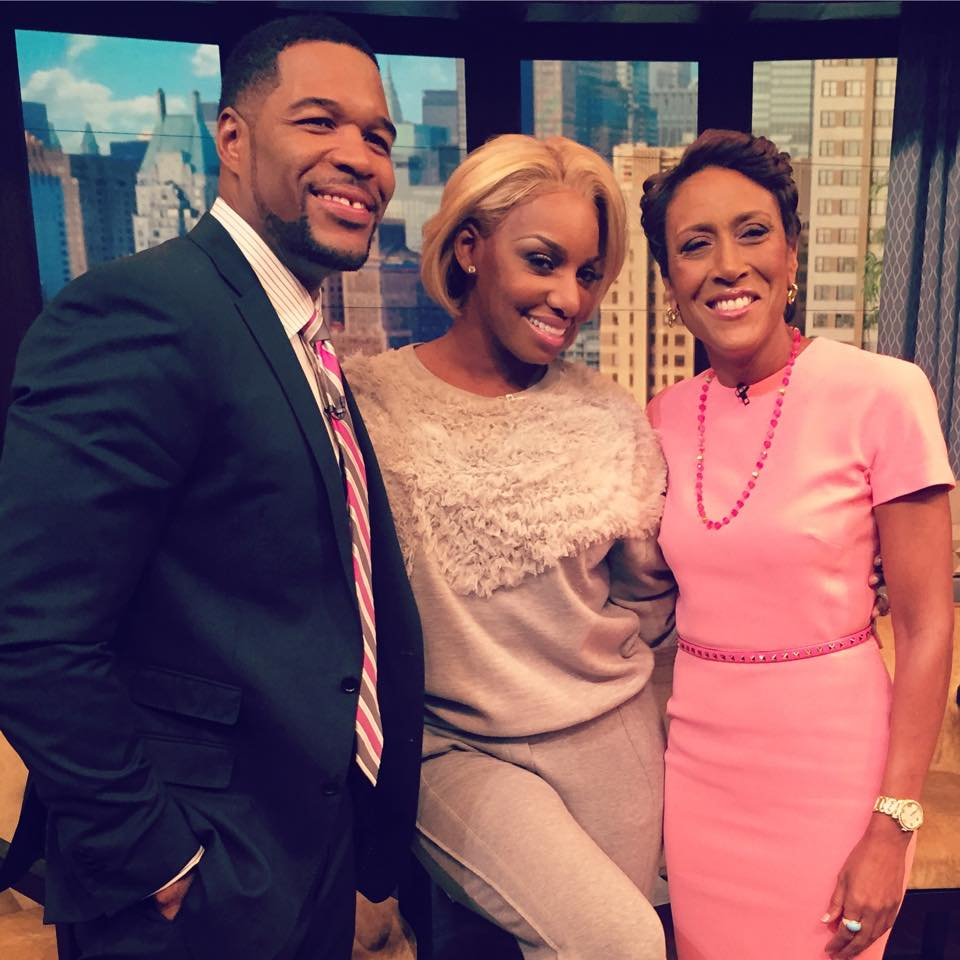 NeNe Leakes Stops By 'Live Kelly & Michael'