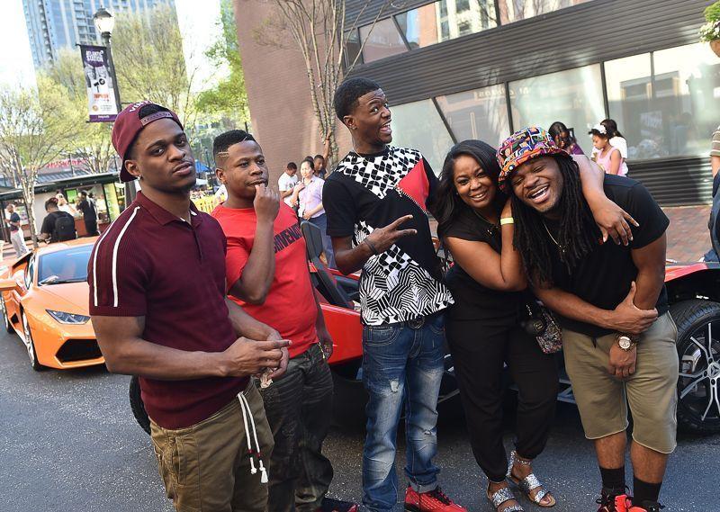 Furious 7 Advance Screening In Atlanta