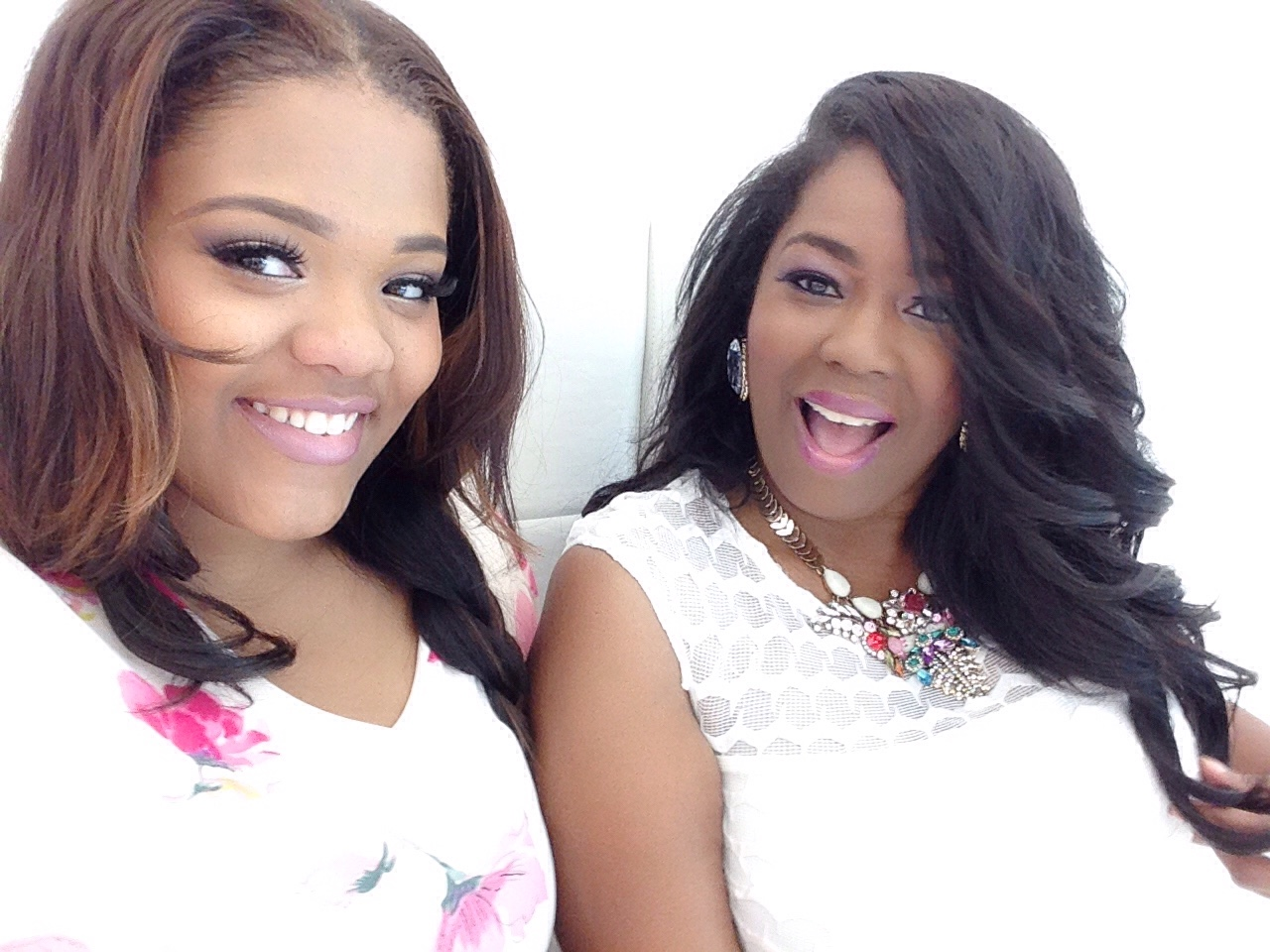 Pinktastic Saturday: Behind-The-Scenes Ashley Stewart Photoshoot