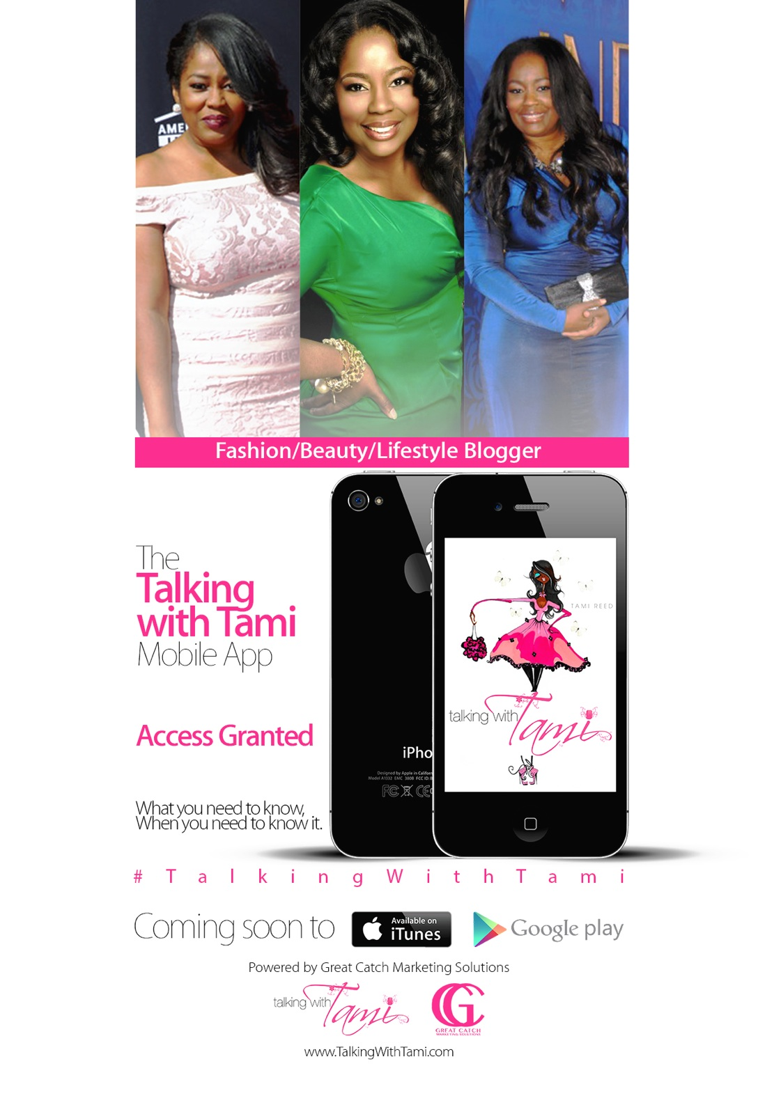 Coming Soon: Talking With Tami Mobile App!