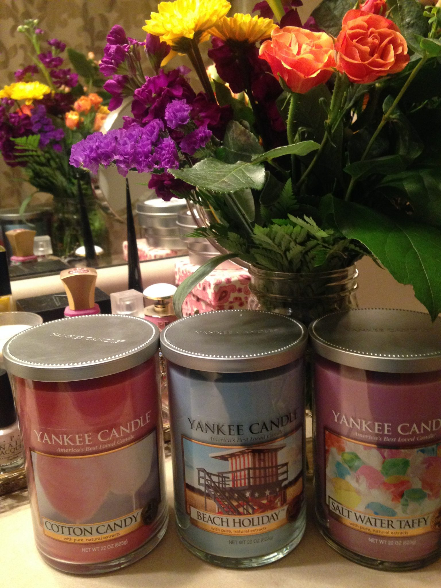 Summer Yankee Candles