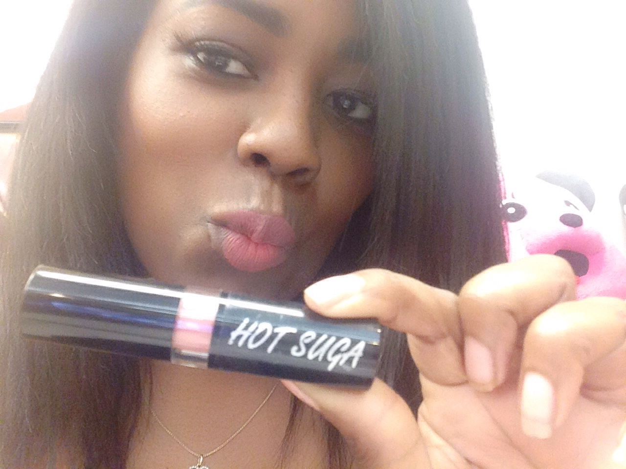 Pinktastic Saturday: Hot Suga Lipstick