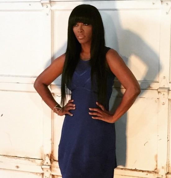 Wardrobe Breakdown Kenya Moore Kontrol Magazine Cover Shoot