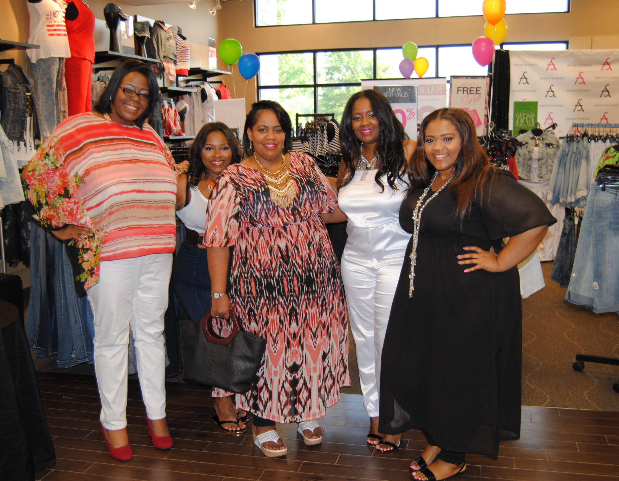 Ashley Stewart's Mommy & Me Sip N Shop In Atlanta