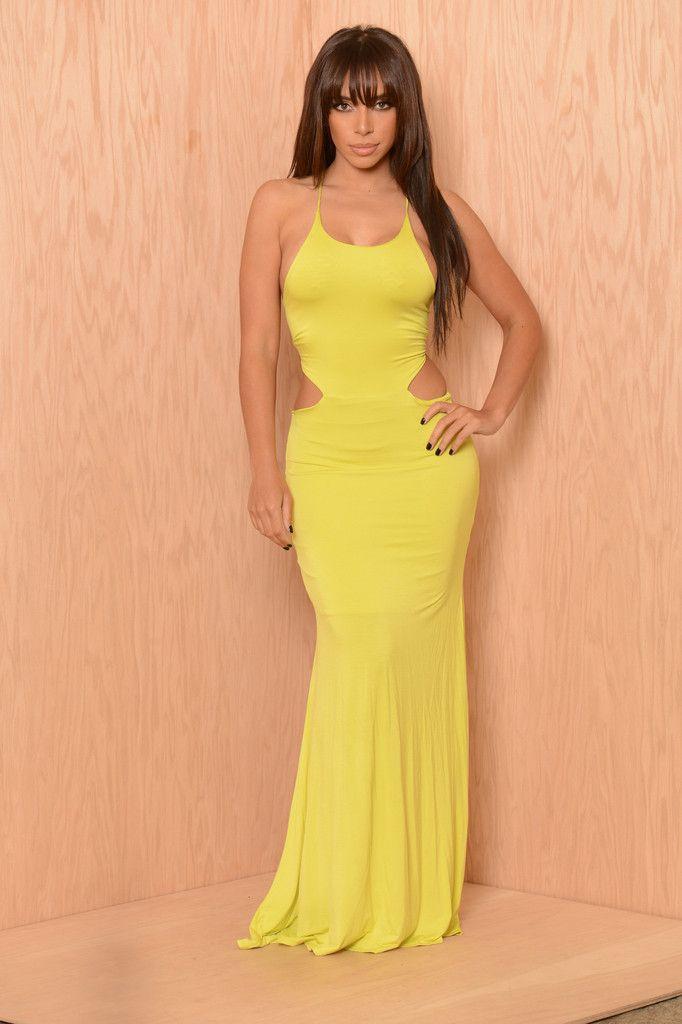 Wardrobe Breakdown: Makeup Shayla Instagram Yellow Dress
