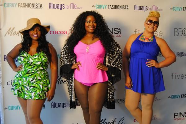 the curvy fashionista swim fashion show