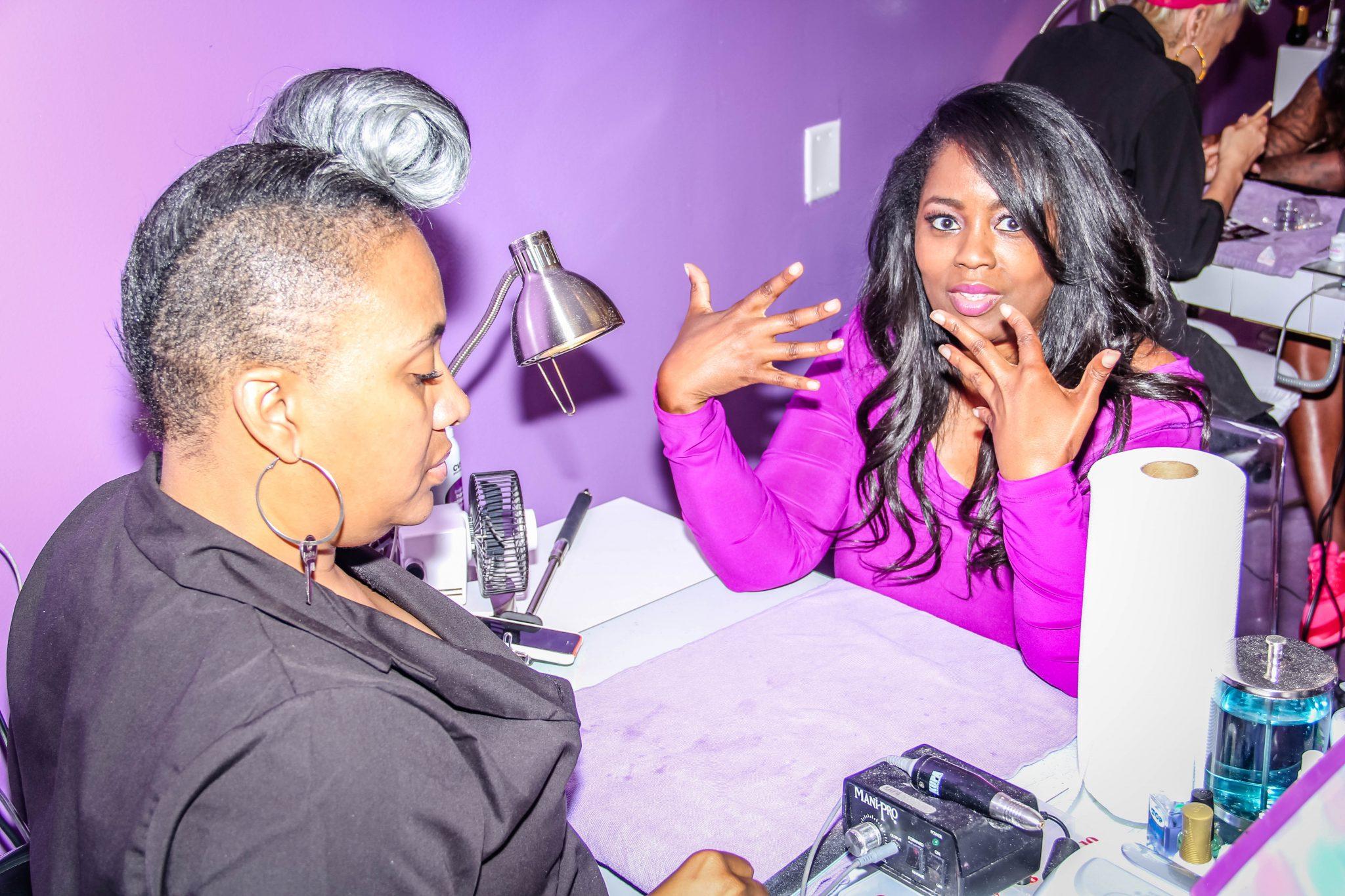 Ultra Nail Lounge - Talking With Tami