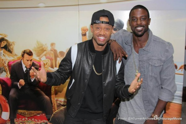 "TERRENCE J, LANCE GROSS & More Attend ENTOURAGE ""KICK IT"" Event in LA"