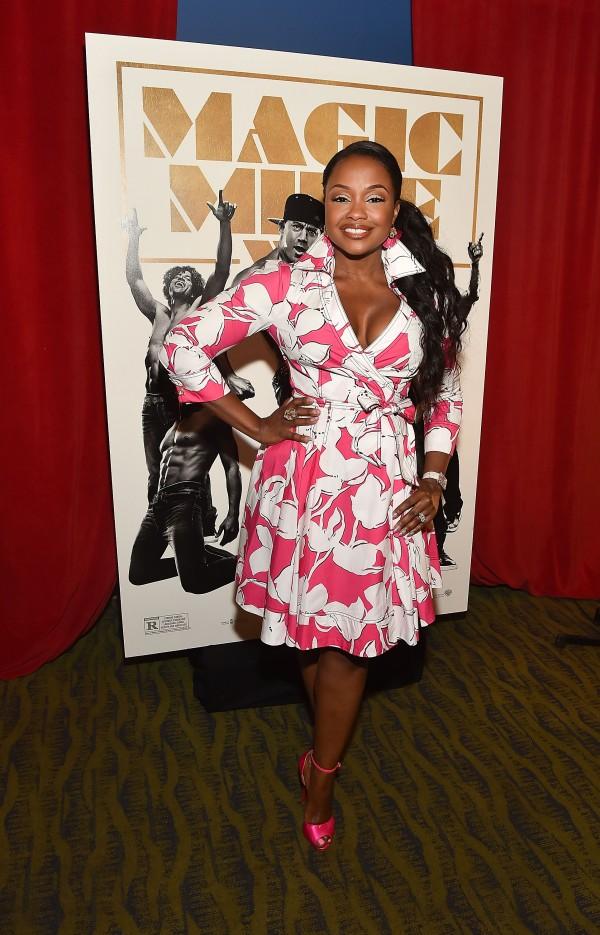 "ATLANTA, GA - JUNE 23:  Phaedra Parks attends ""Magic Mike XXL"" Ladies Night Out Advanced Screening at Landmark Midtown Art Cinema on June 23, 2015 in Atlanta, Georgia.  (Photo by Paras Griffin/Getty Images for Warner Bros)"