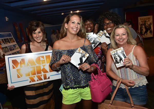 """ATLANTA, GA - JUNE 23:  Guests attend the  """"Magic Mike XXL"""" Ladies Night Out Advanced Screening at Landmark Midtown Art Cinema on June 23, 2015 in Atlanta, Georgia.  (Photo by Paras Griffin/Getty Images for Warner Bros)"""