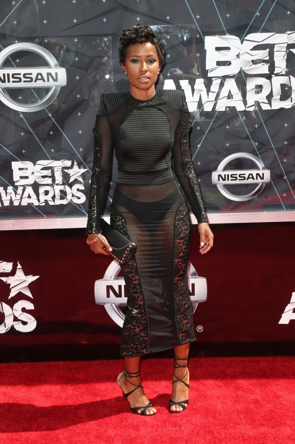 LOS ANGELES, CA - JUNE 28:  Rapper DeJ Loaf attends the 2015 BET Awards at the Microsoft Theater on June 28, 2015 in Los Angeles, California.  (Photo by Frederick M. Brown/Getty Images for BET)