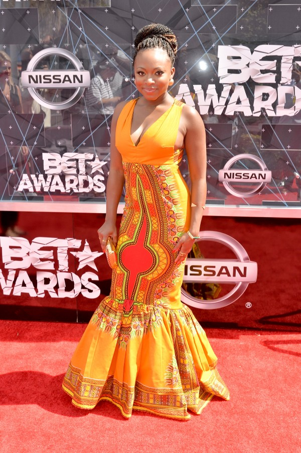 LOS ANGELES, CA - JUNE 28: Singer Naturi Naughton attends the 2015 BET Awards at the Microsoft Theater on June 28, 2015 in Los Angeles, California.  (Photo by Earl Gibson/BET/Getty Images for BET)