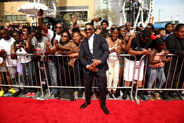 LOS ANGELES, CA - JUNE 28:  Recording artist Stevie J poses with fans at the 2015 BET Awards at the Microsoft Theater on June 28, 2015 in Los Angeles, California.  (Photo by Christopher Polk/BET/Getty Images for BET)