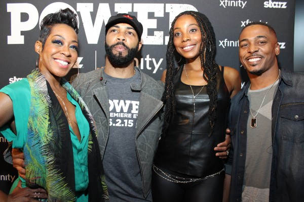 Cast of Survivors Remorse with Omari