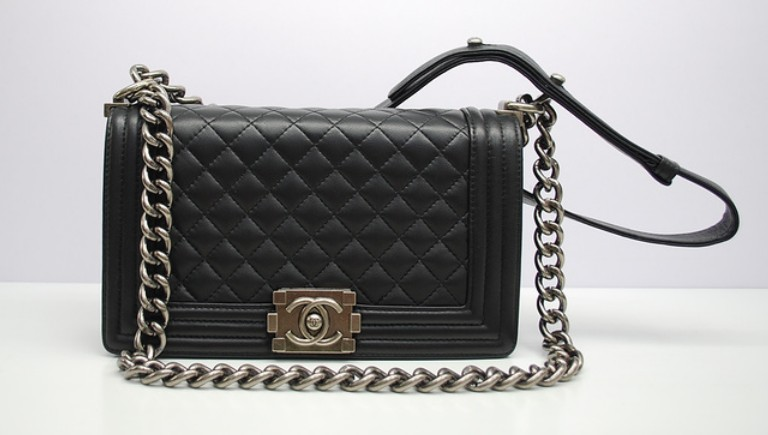 Chanel-Black-Boy-Chanel-Quilted-Medium-Bag - Talking With Tami : chanel quilted boy - Adamdwight.com