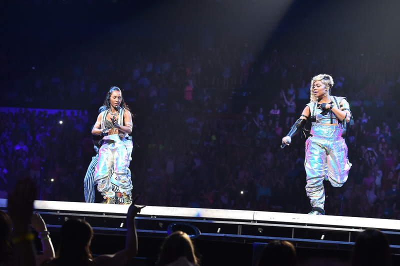 The Main Event Concert In Atlanta With TLC, New Kids On The Block, Nelly