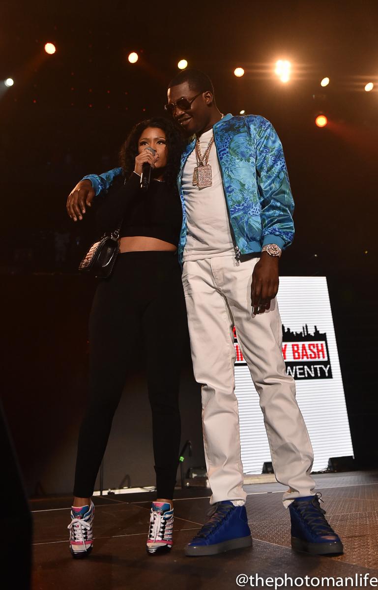 Nicki Minaj & Meek Mill Stop By Hot 107.9's #BirthdayBash