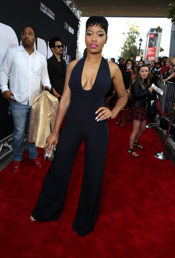 """Keke Palmer seen at Open Road Films Los Angeles Premiere of """"Dope"""" in partnership with the LA Film Fest on Monday, June 8, 2015, in Los Angeles. (Photo by Eric Charbonneau/Invision for Open Road Films/AP Images)"""