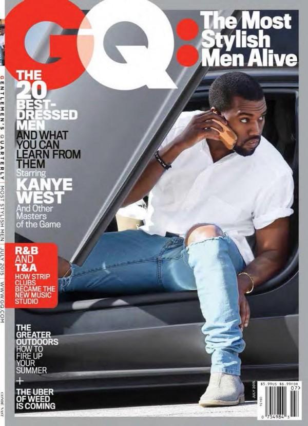kanye west gq magazine july 2015