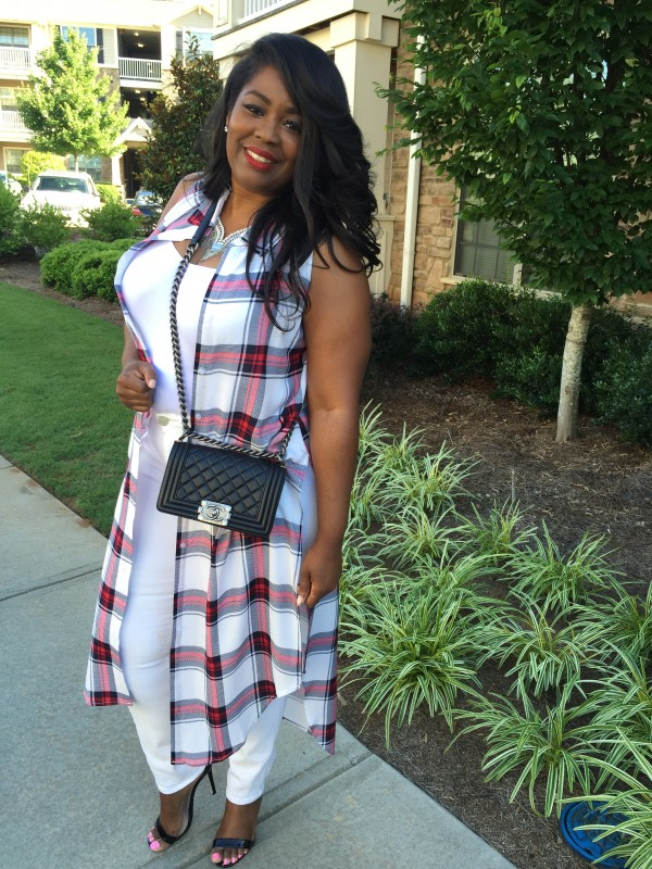 my style plaid duster 4