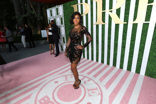 LOS ANGELES, CA - JUNE 24:  Singer Sevyn Streeter attends the 2015 BET Awards Debra Lee Pre-Dinner at Sunset Tower Hotel on June 24, 2015 in Los Angeles, California.  (Photo by Mark Davis/BET/Getty Images for BET)