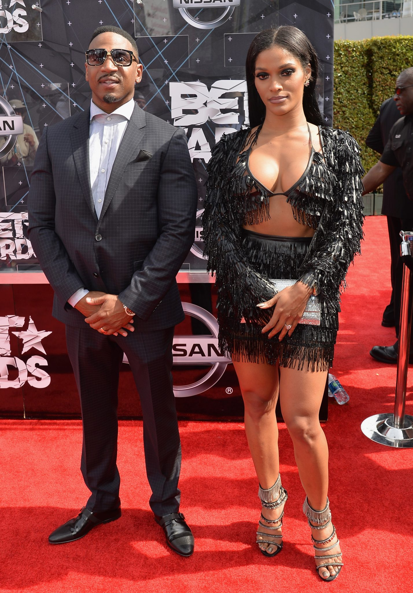 TWT TEA: Joseline Hernandez & Stevie J At The BET Awards