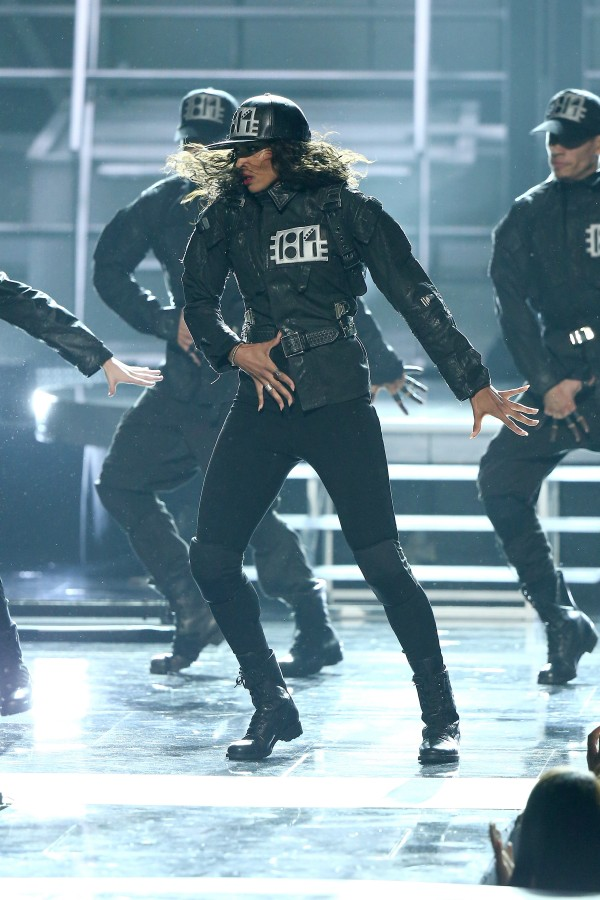 LOS ANGELES, CA - JUNE 28:  Recording artist Ciara performs onstage during the 2015 BET Awards at the Microsoft Theater on June 28, 2015 in Los Angeles, California.  (Photo by Mark Davis/BET/Getty Images for BET)