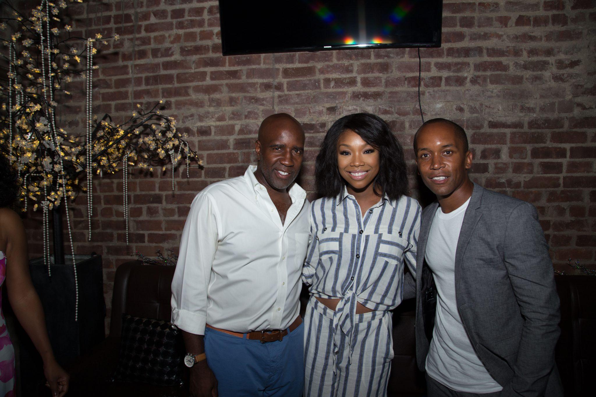 Brandy Parties With Uptown Magazine