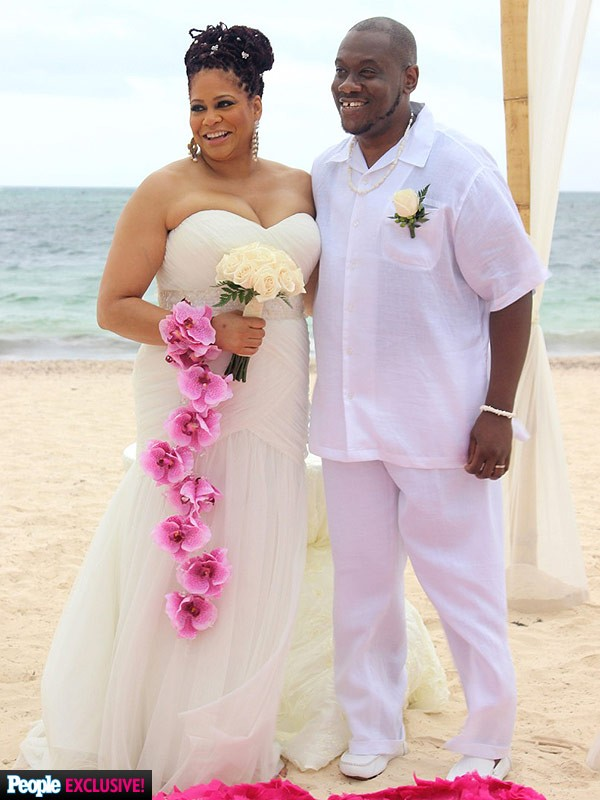 Kim coles gets married