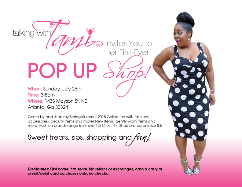 Talking With Tami's First-Ever Pop Up Shop!