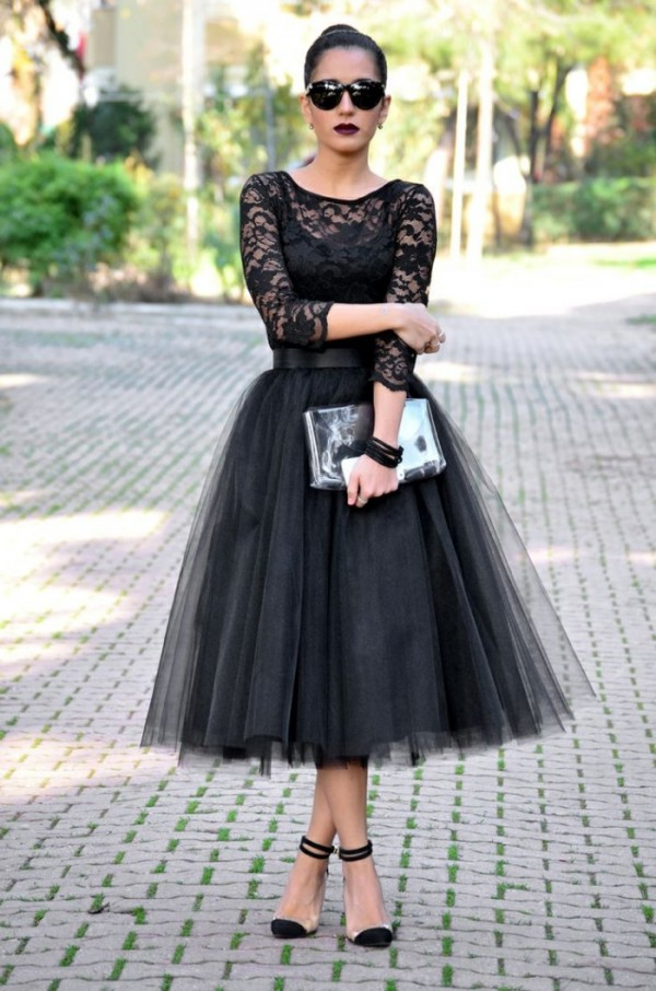 Fashion Trend: Flirty Tulle Skirts