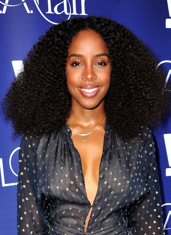 HOLLYWOOD, CA - JULY 14:  Recording artist Kelly Rowland attends the WE tv's LA Hair Season 4 Premiere Party at Avalon on July 14, 2015 in Hollywood, California.  (Photo by Jerod Harris/Getty Images for WE tv)