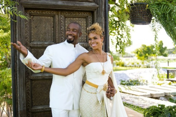 michael jai white wedding