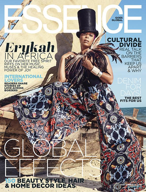 Erykah Badu For Essence Magazine