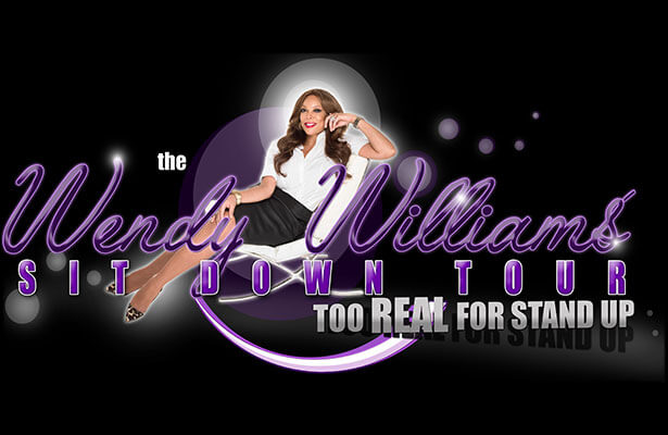 Wendy Williams Sit Down Tour, Too Real For Stand Up