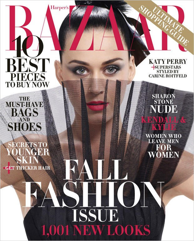 Pinktastic Saturday: Katy Perry For Harper's BAZAAR